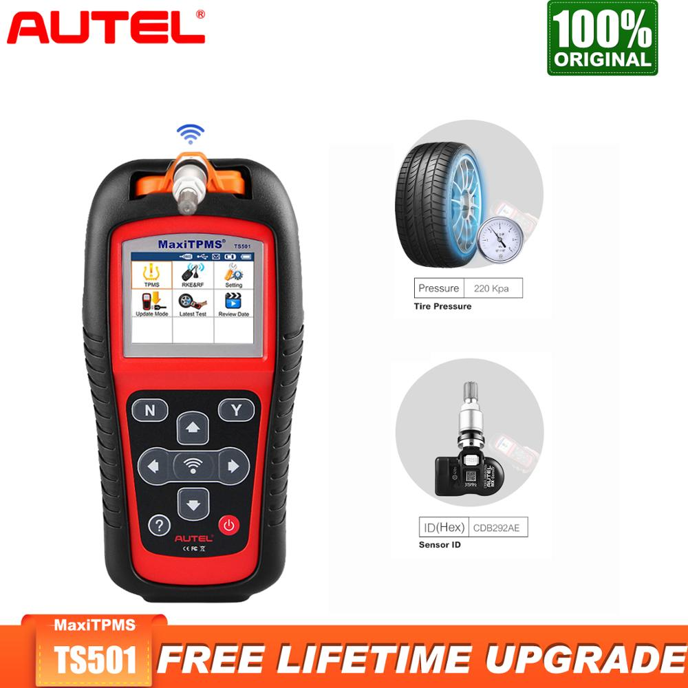 Autel MaxiTPMS TS501 TPMS Service OBD2 Scanner Car Diagnostic Tool Auto Car Scanner Diagnostics OBDII Code Reader