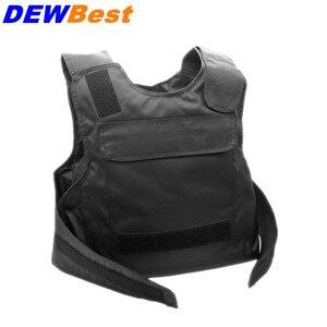Image 1 - DEWBest NIJ IV Bulletproof פנל Al2o3 NIJ רמת 4 Stand לבד בליסטי לוחות אפוד מגן