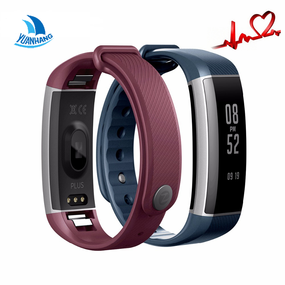 YH Smartband Watch Pedometer Bluetooth Smart Bracelet Heart Rate Monitor Waterproof Wristband Fitness Band for Android