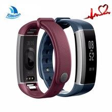 YH Smartband Часы Шагомер Bluetooth Умный Браслет Монитор Сердечного ритма Водонепроницаемый Браслет Фитнес Полосы для Android IOS Телефон