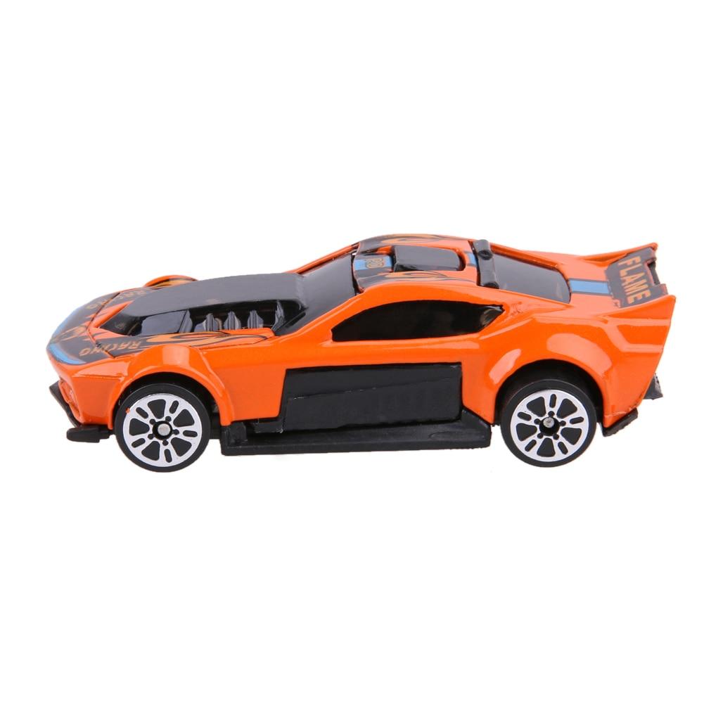 5 unids / set Modelos de Coches de Carreras Juguete Del Coche Del - Vehículos de juguete para niños - foto 6