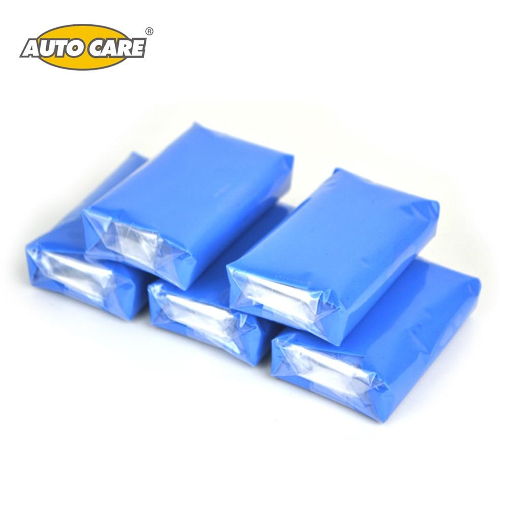 5pcs100g Magic Car Truck Clean Clay Bar Auto Detailing Cleaner Car Washer Blue