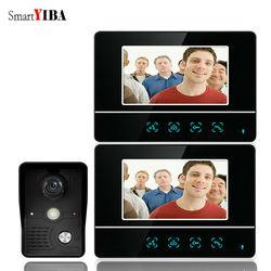 SmartYIBA 7 дюймов видео дверной вход телефонная система вызова видео дверной звонок камера домофон дом семьи видеодомофон