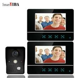 SmartYIBA 7 дюймов видео домофон звонок Системы видео домофон с камерой дом семьи видео домофон