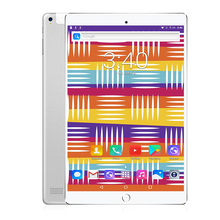 Metal Design 10 inch Tablet PC Android 7.0 PAD Home key Octa Core 8 Cores Dual Cameras 5.0MP 1280*800 IPS 2.5D Tablets WiFi SIM