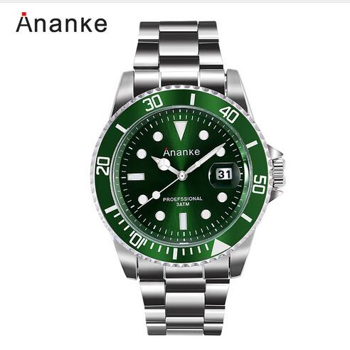 Fashion ANANKE Men Luxury Brand Watches Casual Quartz Waterproof Wristwatches Mens Horloges Mannen Relojes Hombre 2017 Clock Men orkina relojes 2016 new clock men luxury elegant date display band wrist watch cool horloges mannen watches men