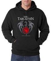 Dragon Game Of Thrones Hoodies Men 2017 New Arrival Spring Autumn Men Sweatshirt Fleece Brand Hoodie