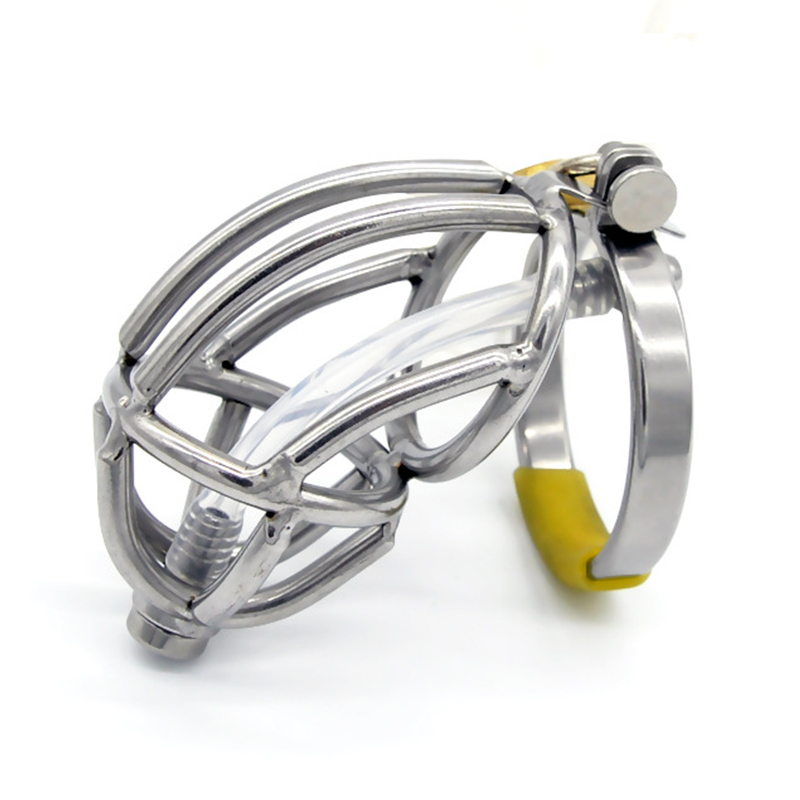 Stainless Steel Male Chastity Device with Urethral Catheter,Cock Cage,Penis Rings,Virginity Lock,Penis Sleeve,Sex Toys for MenStainless Steel Male Chastity Device with Urethral Catheter,Cock Cage,Penis Rings,Virginity Lock,Penis Sleeve,Sex Toys for Men