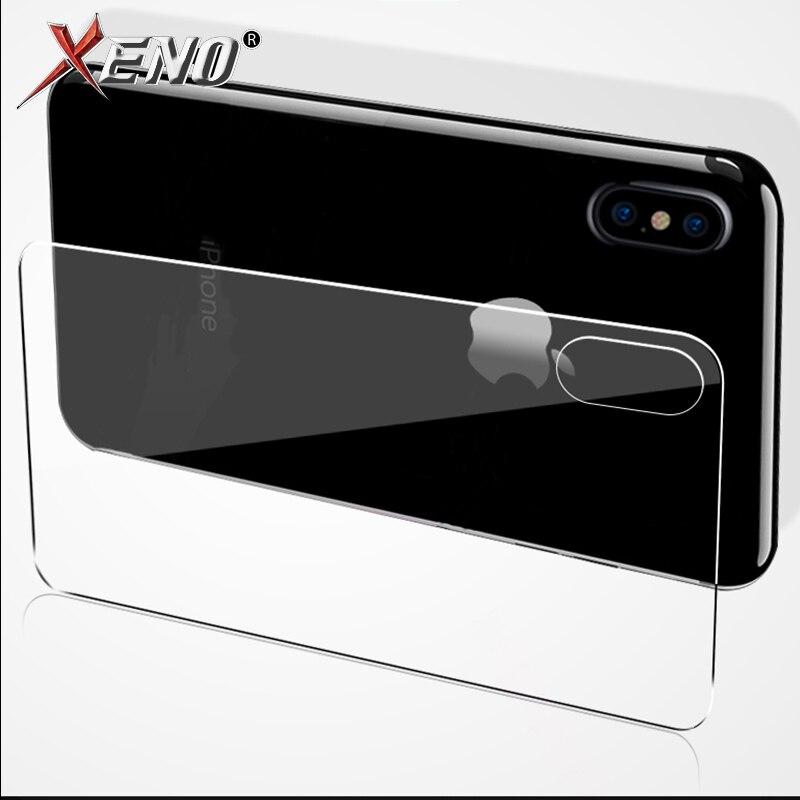MSX voltar protetor de tela de Vidro temperado para o iphone X XS iphone 7 8 plus 6 6 S vidro da frente para trás para iphone 5 5s 5c SE protetora