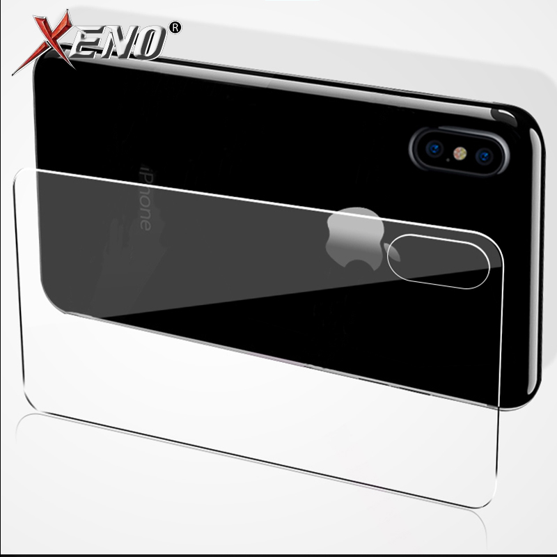 Tempered Glass For IPhone X XS MSX Back Screen Protector Iphone 7 8 Plus 6 6S Front Back Glass For Iphone 5 5s 5c SE Protective