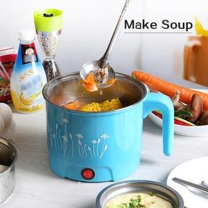 Image 4 - Tinton life panela elétrica multifuncional, de aço inoxidável, quente, para macarrão, arroz, vapor, ovo, sopa