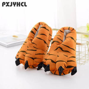 Tiger-Slipper Unicorn Animal Shoe Costume-Stitch Cospaly Child Kigurumi for Boy Adult