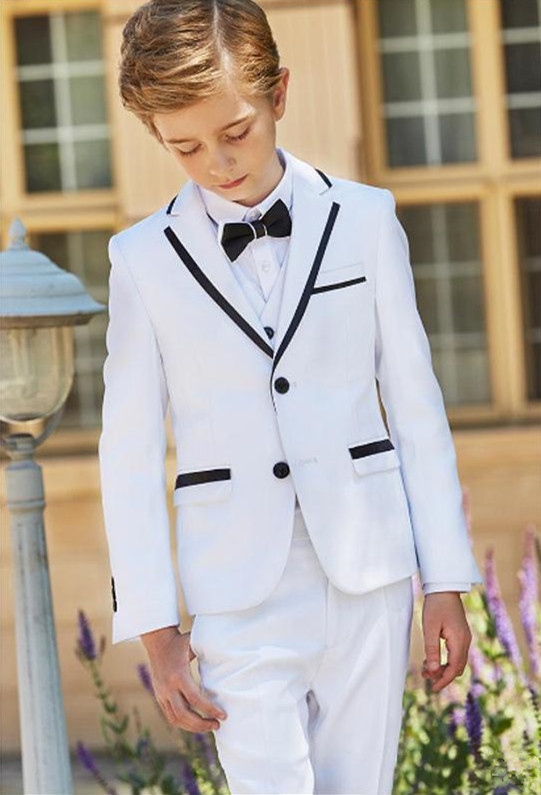 2019-new-fashion-white-boy-formal-wear-notch-lapel-boy-kid-clothes-for-wedding-birthday-party-(jacket+pants+bow+vest) (4)
