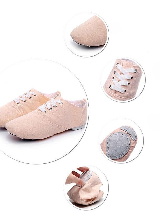 8c35b9843c 2019 Soft Cloth Dance Jazz Shoes Ballet Shoes for Men Women Children White  Black Tan Red Sport Sneakers Gymnastics Fitness Shoes