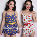 Vintage Palace 2015 Autumn New Sexy Rompers For Women Fashion Sexy Jumpsuit Womens Shorts Feminino Overalls Free Shipping