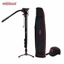 Miliboo Camera Monopod IronTower MTT705A of Aluminium Professional tripod 90 degree stand Head MYT801 pull clasp  stable