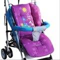 Asiento de Bebé multifuncional Estera Azul Púrpura Rojo, Cochecito Mat Cojín, Colchón de Asiento de Coche de Bebé Cochecito, Niños Cochecito Pad