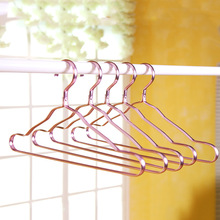41CM Gold Strong Metal Wire Hangers Clothes Hangers, Coat Hanger, Standard Suit 10pcs