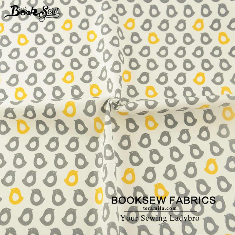 Книжный хлопковый саржевый фабричный Текстиль для дома с милым рисунком пингвина мягкая стеганая ткань Tecido Tilda для простыни Детские подушки занавески