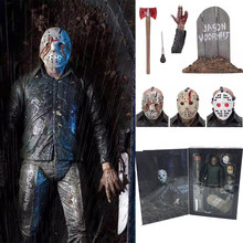7inch 18cm NECA Originele Friday The 13th Deel V Part5 EEN Nieuw Begin Jason Voorhees Action Figure Speelgoed pop(China)