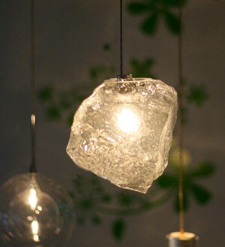 Modern Ice style 15cm glass G4 pendant light lighting fixture brief bedroom bar lamp restaurant pendant lamp бутылка 0 4 л asobu ice t 2 go фиолетовая it2go violet
