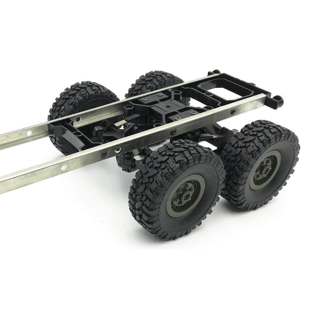 WPL B24 B16 B36 Simulation Train Oil Transport Tank Tanker Trailer Basket Truck Model RC Car Parts For Ural 1/16 2.4g 6wd RC Car