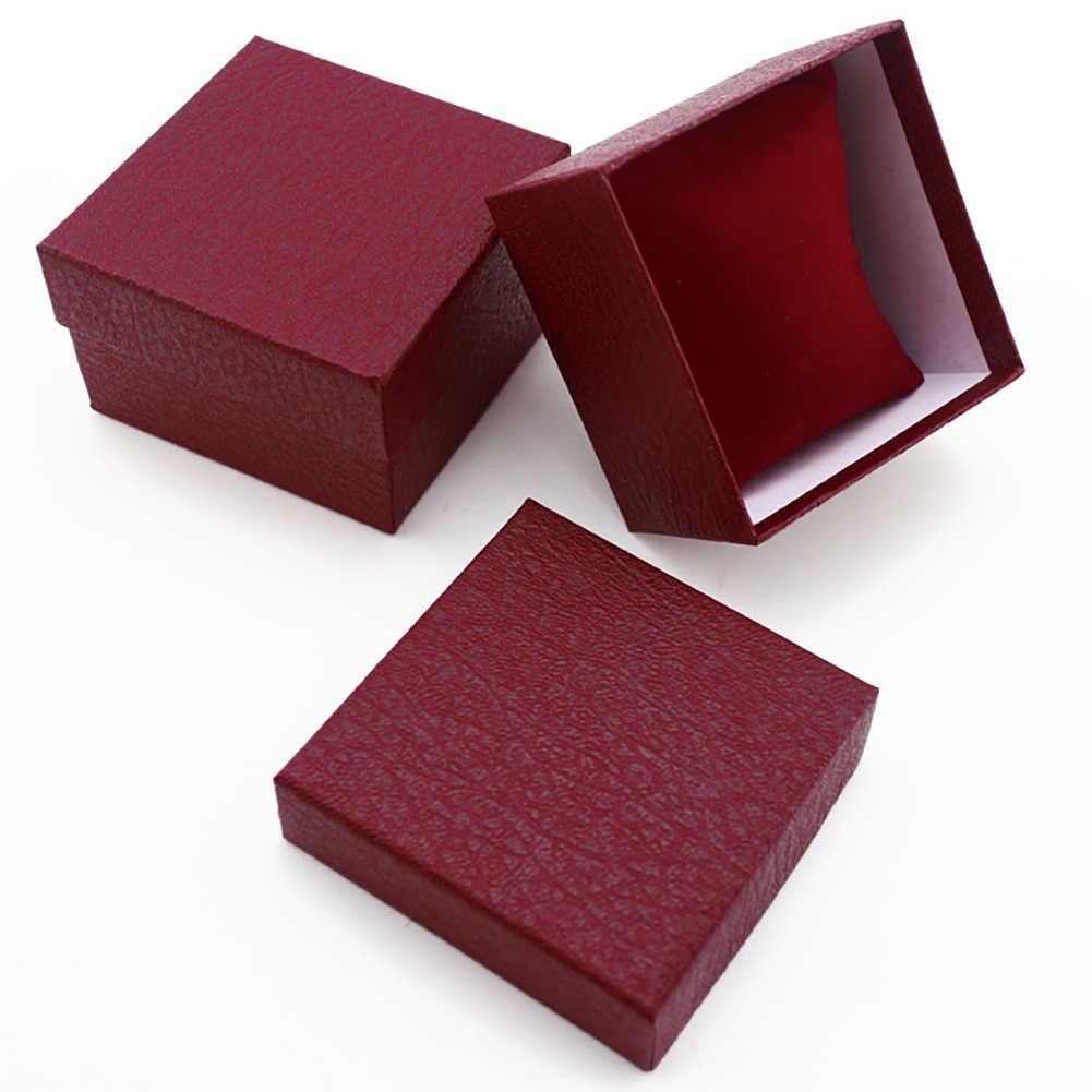 دائم saat kutusu صناديق التعبئة والتغليف للمجوهرات المنظم عالية الجودة ساعة للهدية صندوق سوار حقيبة للتخزين Cajas الفقرة relojes