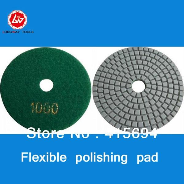 Nové mokré diamantové polštářky o průměru 10 cm a 4/3 palce pro mramorovou žulovou podlahu a leštící polštářky z kamene.