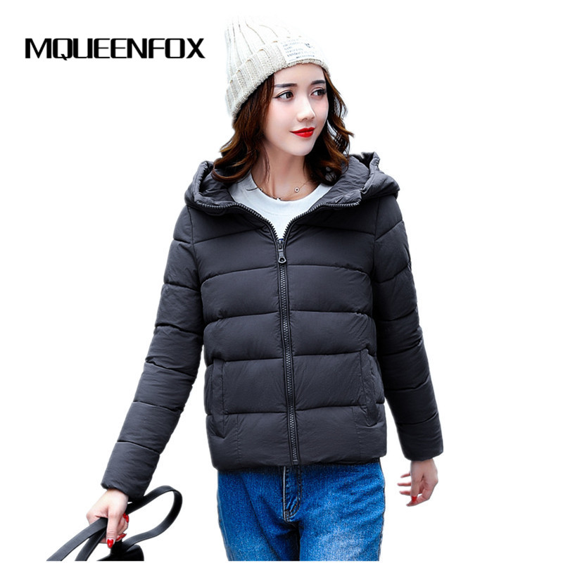 Winter Short Women Parkas for Coat 2018 New Female Down Jacket With a Hood Fashion Women Winter Jacket