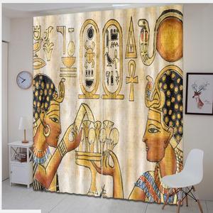 window treatments Egyptian sty