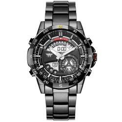 AMST Marque De Luxe Numérique Sport Montres Hommes Militaires de Quartz LED Heure Horloge Hommes En Acier Plein Montre-Bracelet Relogio Masculino