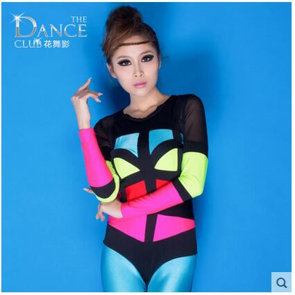 New autumn and winter fashion womens clothing Nightclub Bar jazz singer lead dancer clothing