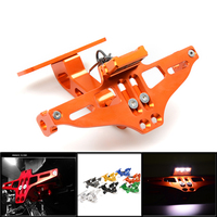 CNC Motorcycle Adjustable Angle License Number Plate Frame Holder Bracket For buell m2 cyclone S1 Lightning 1125cr 1125r