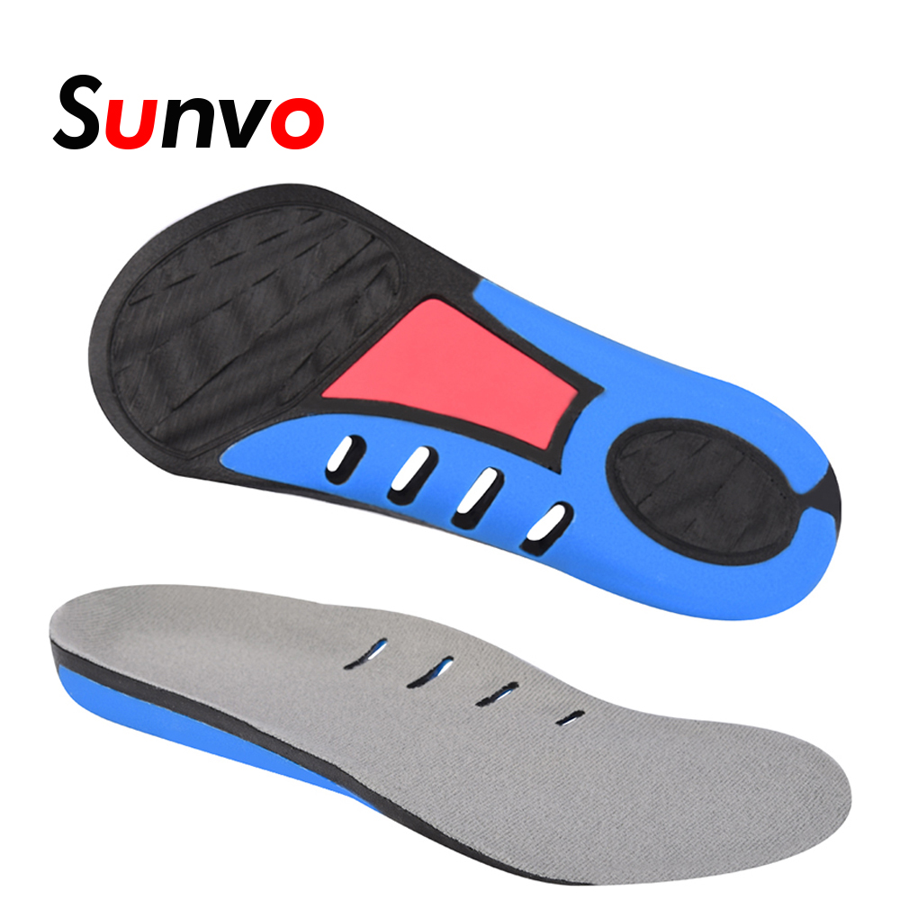 цены Sunvo 3/4 Length Heel Inserts Arch Support Insoles for Men Women Sport Cushion Breathable Running Orthopedic Shoes Soles Pads
