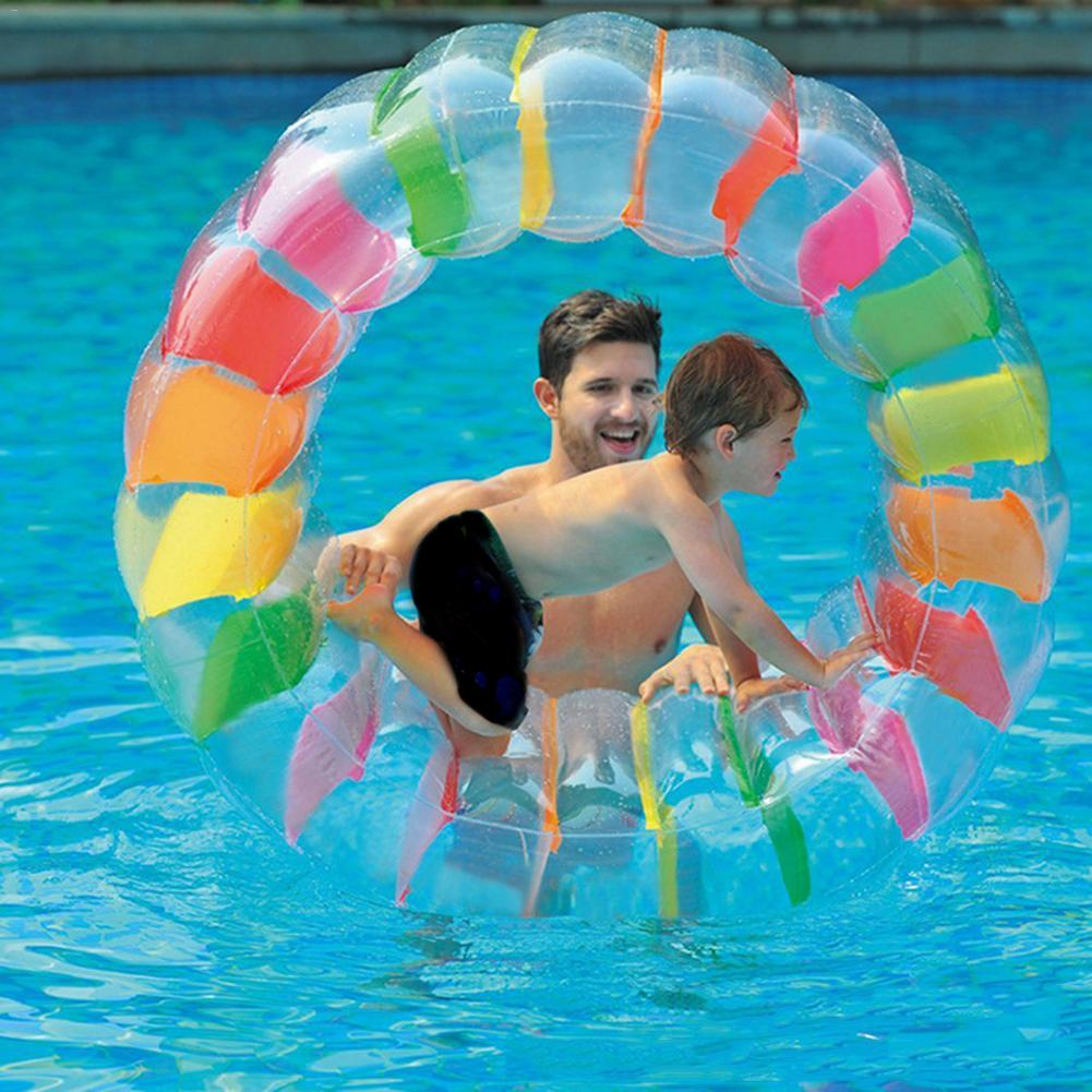 Water Inflatable Wheel Toy Multi-functional Puzzle Crawling Cylinder Water Roller Ball Walk On Water Rolling Ball for Kids #25Water Inflatable Wheel Toy Multi-functional Puzzle Crawling Cylinder Water Roller Ball Walk On Water Rolling Ball for Kids #25