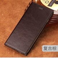5 73inch Genuine Leather Case For Nubia Z17S Nx595j Case Flip Back Cover For Nubia Z