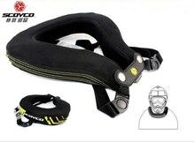 Обновить Scoyco N02-B Мотоцикл подушка Междугородной Гонки Защитный Скобка Мотокросс Шею Охранника