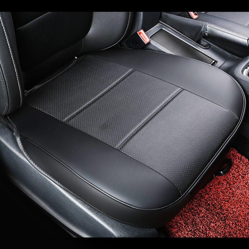universal pu leather car seat pad auto seat cushions non slide car seat cushion - Car Seat Cushions