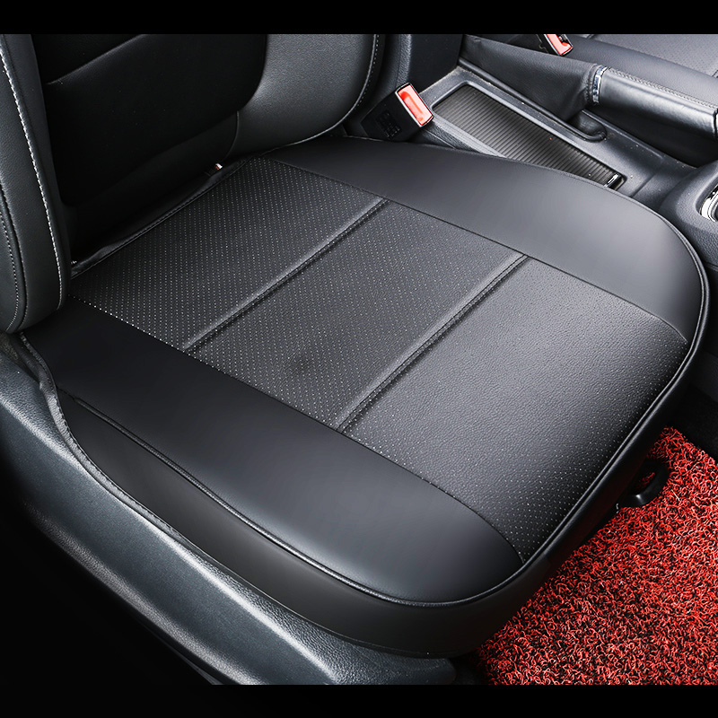 universal pu leather car seat pad auto seat cushions non slide car seat cushion car. Black Bedroom Furniture Sets. Home Design Ideas