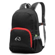 WindTour Men's Women's 25L Ultralight Foldable Backpacks Outdoor Sport Climbing Trekking Fishing Running Trip Portable Bag VK026