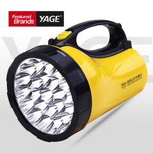 hot deal buy yage portable light led spotlights camping lantern searchlight portable spotlight handheld flashlight night lamp light yg-3506