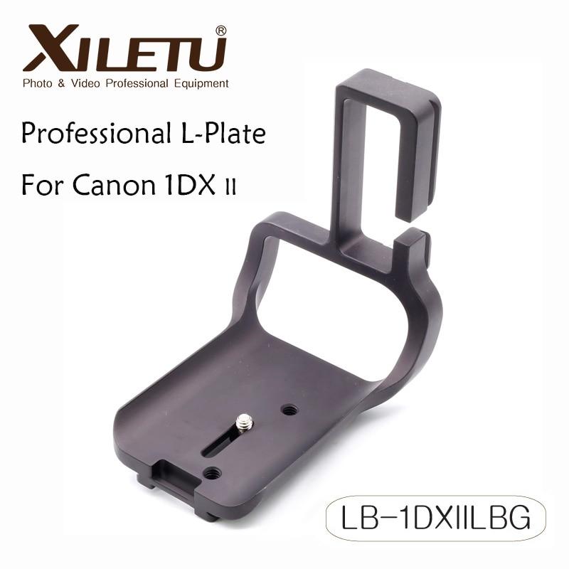 Xiletu LB-1DXIILBG Professional Tripod Bracket Quick Release Plate For Canon EOS 1DX II 2 Arca Swiss RRS Manfrotto Gitzo