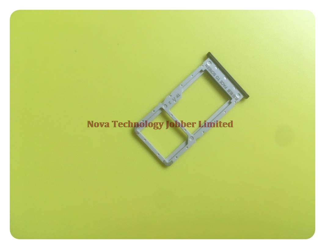 Wyieno Note6 Pro SIM Card Tray Holder Slot For Xiaomi For Redmi Note 6 Pro Tray Adapter + Tracking