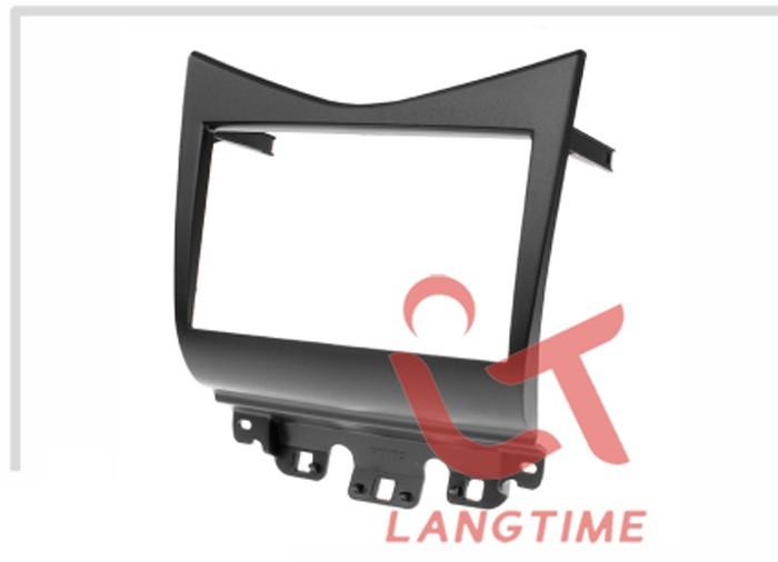 Best Free shipping-Car refitting DVD frame,DVD panel,Dash Kit,Fascia,Radio Frame,Audio frame for 07 Honda Accord 2.4 , 2DIN 3