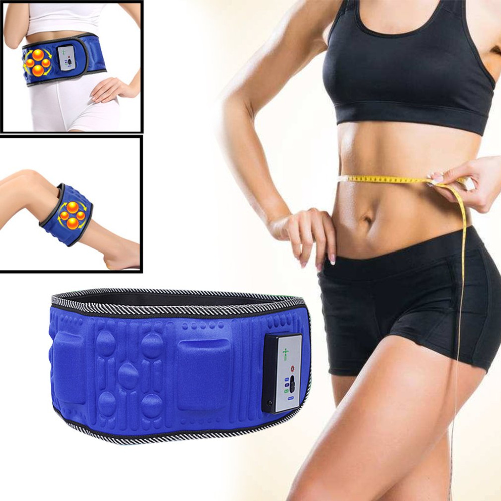 Slimming Belt Lose Weight Fitness Massage X5 Times Sway Vibration Abdominal Belly Muscle Waist Trainer Stimulator Massager