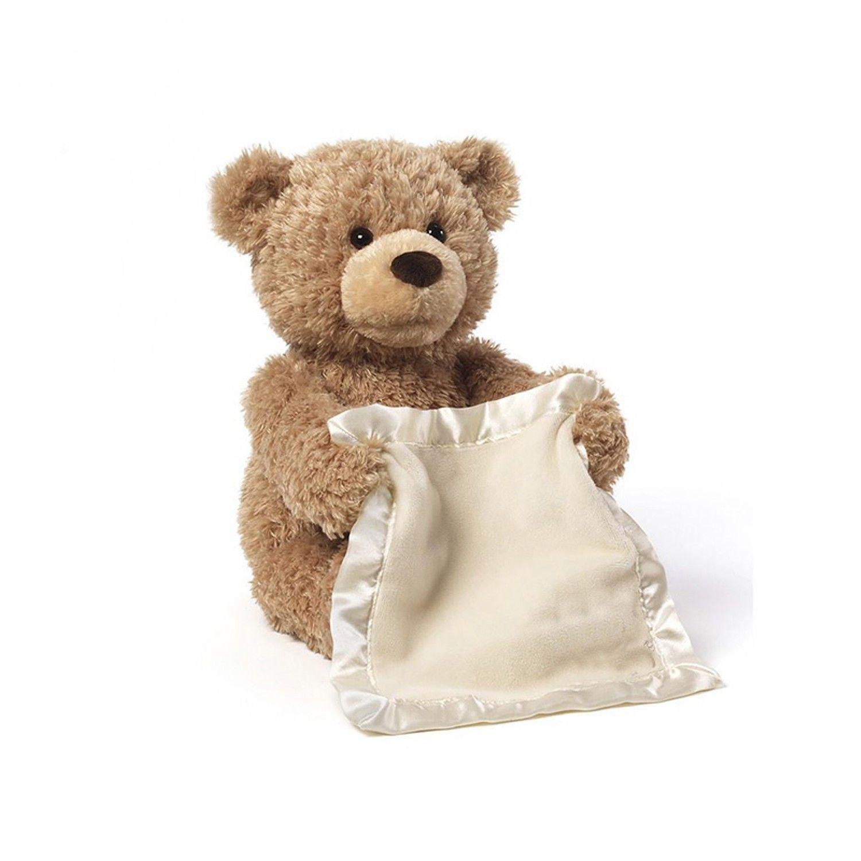 Peek A Boo Teddy Bear Teddy Bear Criança Crianças Crianças Criança Jogar Cobertor de Pelúcia Brinquedo Macio Recheado De Pelúcia Brinquedos Animais bonecas