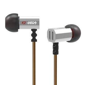 Image 3 - KZ ED9 3.5mm w ucho słuchawki 1DD Super Bowl Tuning dysze słuchawki w ucho monitory HiFi słuchawki douszne z mikrofonem przezroczysty