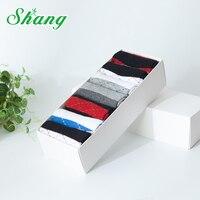BAMBOO WATER SHANG 7paires Gift Box Packaging Men Cotton Socks Men S Cotton Socks Men S