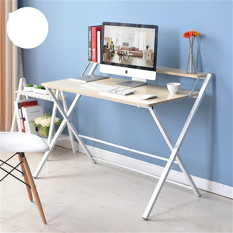 New arrival simple folding writing desk laptop desk bedside font b gaming b font table home