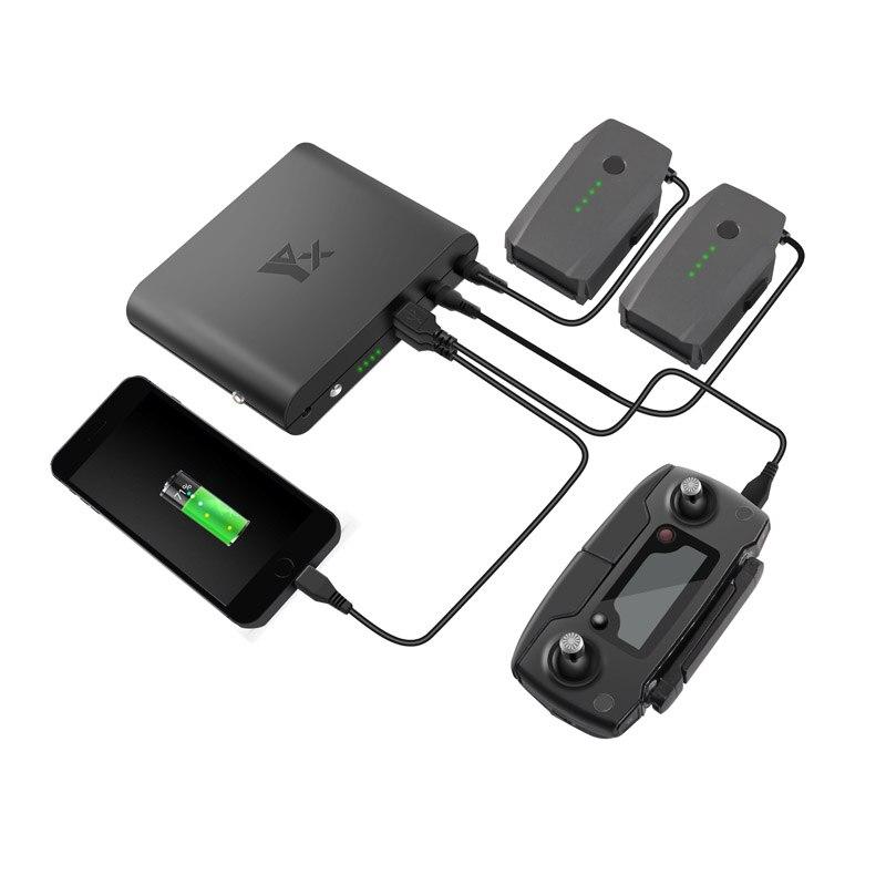 Портативное портативное зарядное устройство для мобильного телефона с зарядным устройством USB порт пульт дистанционного управления заряд...